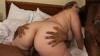 bbw interracial threesome from DesireBBWs .com