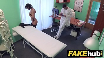 fake hospital czech doctor cums over horny cheating wifes tight pussy