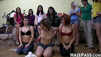 College chick tongued and humiliated