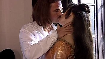 Hot lover fucked in musketeers porn parody
