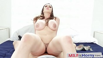 Exotic Big Tits MILF Is Horny and Cheats With Her Stepson