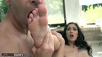Big Titty Babe Feeties Sucked While She Takes Cock Thumbnail