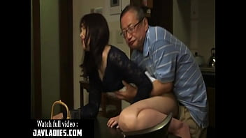 Japanese babe Fucked by Father in law Full Video :