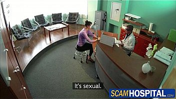 Watch the horny doctor Clip • Horny_brunette_chick_gets_fucked_in_the_examining_table_by_the_pervy_doctor preview