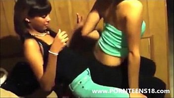 Black Teen Girls Lap Dance At School