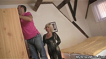 Watch My blonde mother in law seduces me into sex preview