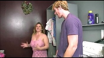 Watch Busty Teen Handjob In The Laundry Room preview