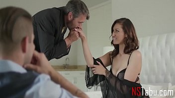 Husband Lets His Boss Fuck His Wife While HE Watches - Bella Rolland