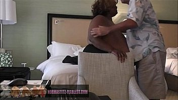 Hard lesbian sex with strap ons