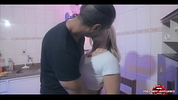 Sex with the blonde from brazil