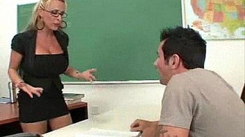 Hot Blonde Teacher gets it Hard