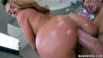 Sheena Shaw getting that oiled up ass ripped