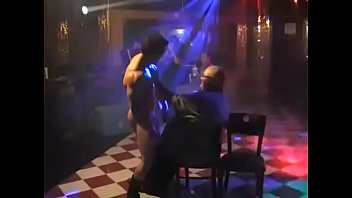 The Other Side Night Club male stripper Kane Thomas Hot seat 7