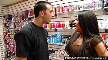 Pornstars Like it Big -  Porn Store Pornstar scene starring Jenaveve Jolie and Keiran Lee