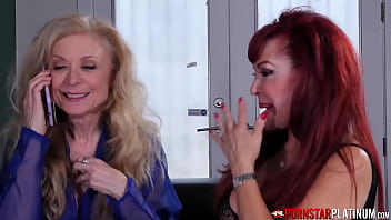 Mature Ladies Sucking Young Cock In 3way