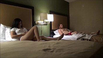 Brother And Step Sister Spend The Night in a Hotel Room - Alex Adams