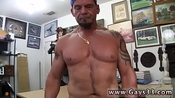 Beefy black guys ass pounding