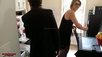 Hot french 40 years alone sexy mom mature fucks with stepson