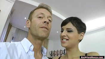 Rocco Siffredi meets up fashion model Coco Del Mal.He lets her show her ass and he then fingers it.After that,she throats Roccos cock while rubbing her pussy.Finally,Rocco fucks her tight wet pussy deep and hard and lets her lick his ass.