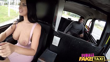 Popular interracial | Female fake taxi interracial porn video with great real tits Thumbnail