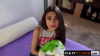 Adorable Teenie Spoiled by Good Daddy