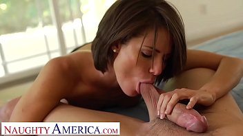 Jenni Lee gets horny after working out and fucks random dude