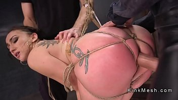 bdsm gangbang for tattooed hoe