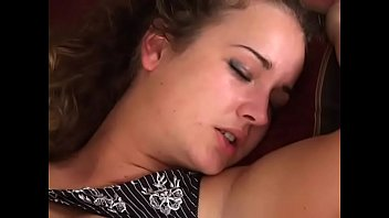 Sexy brunette with natural tits gets ass licking and fucking on the pool table