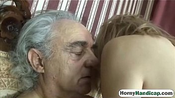 Old horny dick tasting cute teen smooth pussy