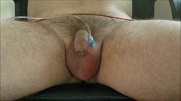 scrotum infusion Dvd sexual on saline