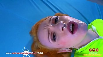 Tattooed redhead teen slut likes to swallow hot cum GGG