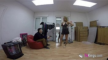 Watch Jordi catches a girl while she's changing her clothes and quickly fucks her right there preview
