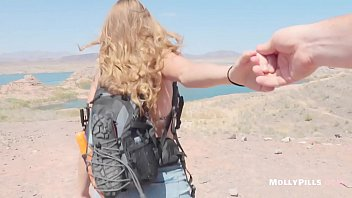 Accidental Creampie with Innocent Girl Fucked Hard at the Lake POV Molly Pills Horny Hikers Public Sex with Amateur Natural Tits Big Booty Blonde Hot College Student HD 1080p