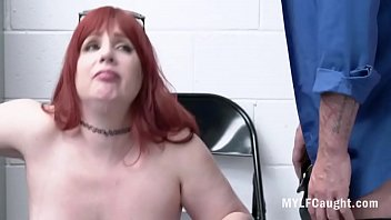 RedHead MILF Knows How To Get Away
