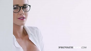 Sexy writer Alexis Crystal needs to write about something! Why not some hot interracial threesome anal sex?, Sofi Goldfinger helps as Alexis gets her BBC story! Full flick at PrivateBlack.com!