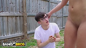 BANGBROS - Archie Stone Gets Fucked After Being Caught Spying On Rharri Rhound