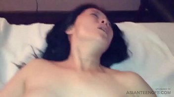 Interracial sex with horny Asian woman