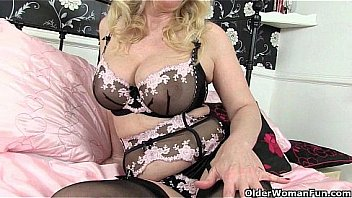 British milf lucy gresty fills both holes