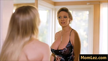 Daughter is jealous over Mothers big boobs
