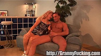 slutty grandma gets railed