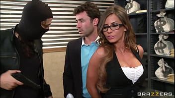 MADISON IVY - TIED UP AND SPANKED AT THE BANK