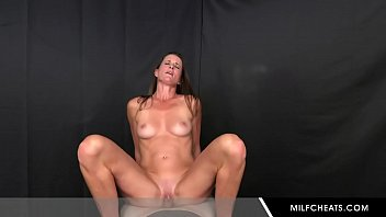 Horny milf nice riding stranger dick and suck cock