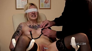Watch Tattooed blonde slave whipped preview