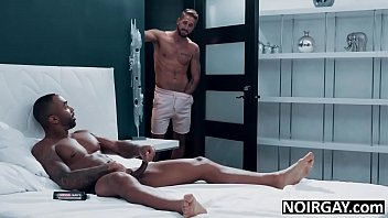 Gay interracial threesome college friends