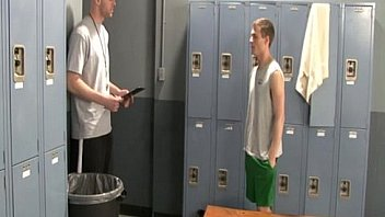 XVIDEOS Gay jocks Brent and Conner suck their cocks in locker room only on Suite free