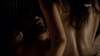 Alan Van Sprang and Charlotte Salt sex scene in The Tudors S03E02