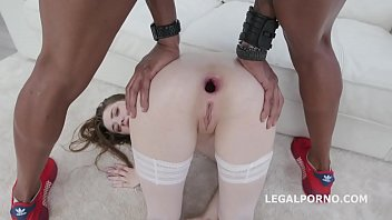 Double Anal Creampie Sweet Hole gets 2 BBC with Anal, DP, DAP, Gapes, Creampie to Swallow GIO1178