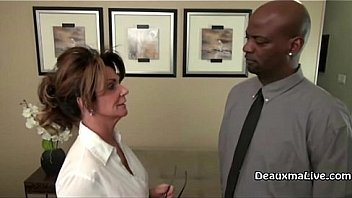 Mature Milf Deauxma is looking for a raise at her day job, she has to go to her boss to ask for it. He tells her only if she takes his BBC! See the full video only at DeauxmaLive.com