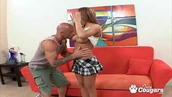 Busty Megan Monroe Takes A Hard Dick