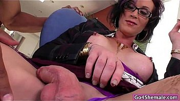 TRANSVESTITE DANIELLE PLANT GETS A WARM UP FROM HER